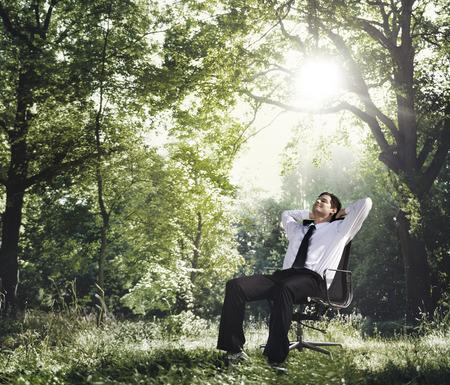 商业自然创意职业保护理念