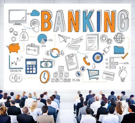 asian business team: Banking Finance Money Savings Economy Concept
