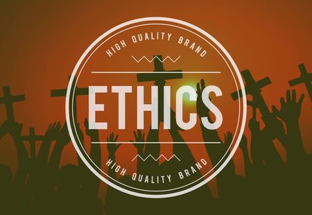 ethical: Ethnics Ethical Integrity Moral Principles Rights Concept