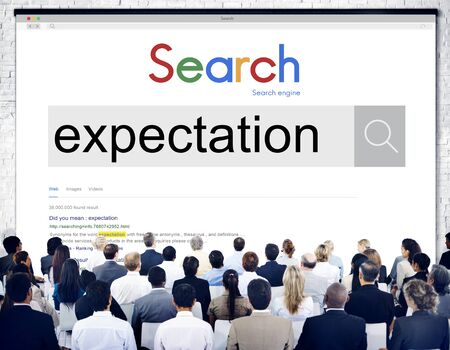 expectation: Expectation Expect Future Hope Aspiration Goal Concept
