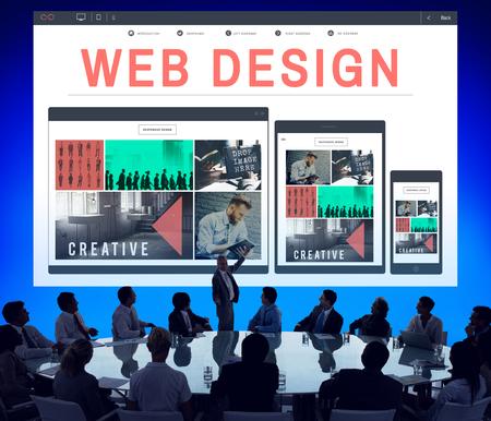 programing: Web Design Layout Blogging Programing Software Concept