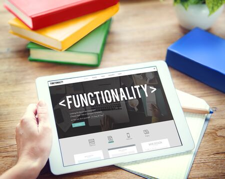 functionality: Functionality Practical Purpose Suitable Technology Concept