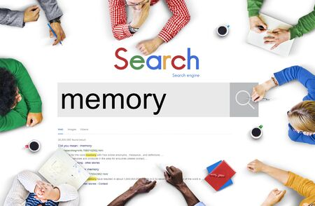 remember: Recuerde que la memoria de almacenamiento de base de datos Recolección Concept