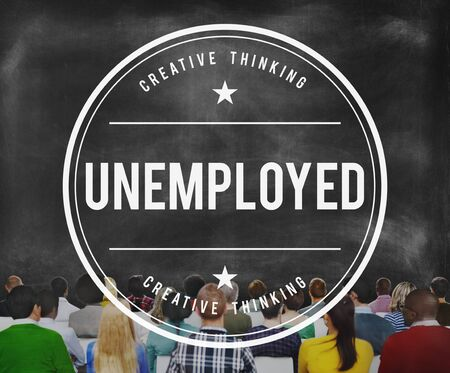 sacked: Unemployed Sacked Fired Lay Off Failure Concept Stock Photo