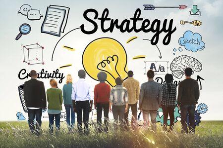 pensamiento estrategico: Strategy Ideas Mission Creativity Design Vision Concept
