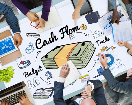 Business planning with cash flow concept