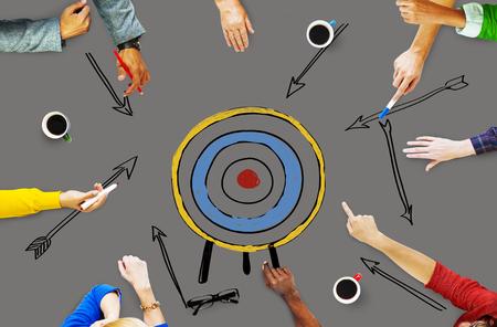 aspiration: Goal Target Success Aspiration Aim Inspiration Concept