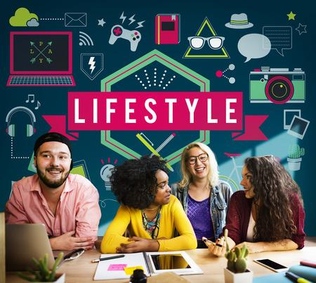 behavior: Lifestyle Hobby Passion Habits Culture Behavior Concept Stock Photo