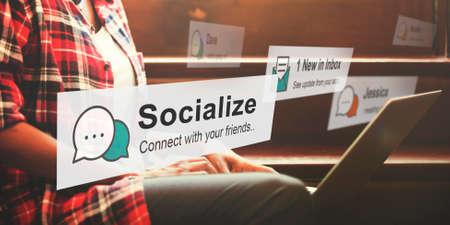 socialization: Socialize Community Society Relationship Socialization Concept