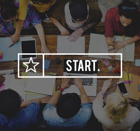 activation: Start Starter Launch Begin Activation Motivation Concept