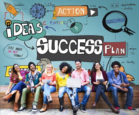 Success Improvement Achievement Goal Aim Concept Фото со стока