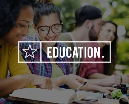 asian afro: Education Learning Studying College University Concept