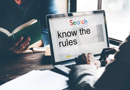 norms: Businessmen Search SEO Connection Internet Website Concept Stock Photo