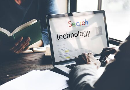 innovative concept: Technology Innovation Evolution Tech Innovative Concept Stock Photo