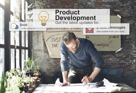 Product Development Productiviteit Efficiency Supply Concept