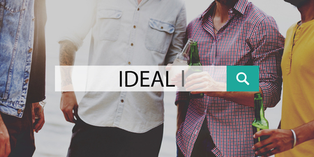idealism: Ideal Idealism Inspiration Quality Hope Concept Stock Photo