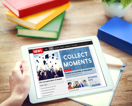 collect: Collect Moments Experience Enjoy Concept