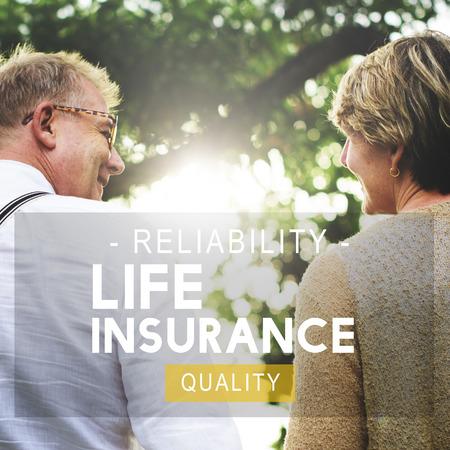 Insurance Life Reliability Quality Living Concept