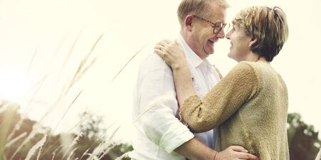 dating: Couple Wife Husband Dating Relaxation Love Concept