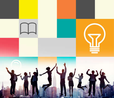 inspiration: Ideas Creativity Inspiration Connection Communication Concept Stock Photo