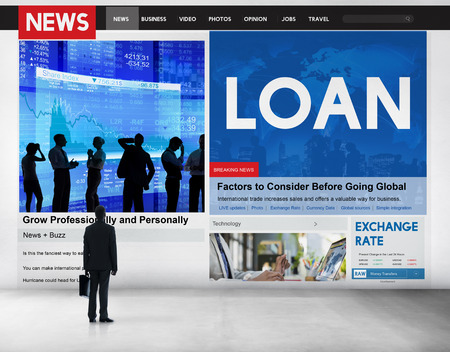 article: Loan News Article Banking Budget Concept