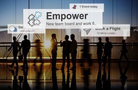 empowerment: Empower Empowering Empowerment Improvement Concept