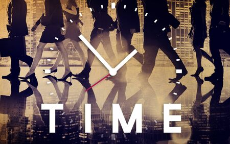 interval: Time Management Punctual Duration Schedule Concept