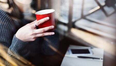 Coffee Break Ricreazione Concetto Rilassamento Archivio Fotografico