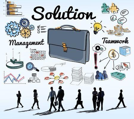 in problem: Solution Problem Solving Result Progress Concept