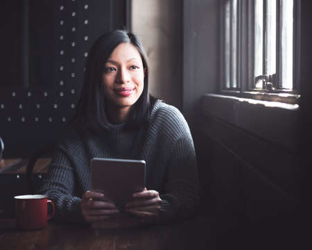 contemplation: Social Media Browsing Contemplation Asian Concept