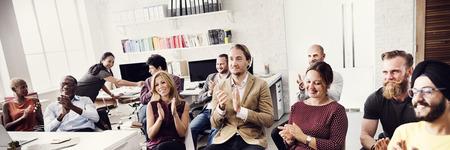 Business Team Achievement Success Goals Concept Standard-Bild