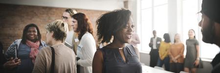 人々 の多様性グループ チーム会議コンセプト