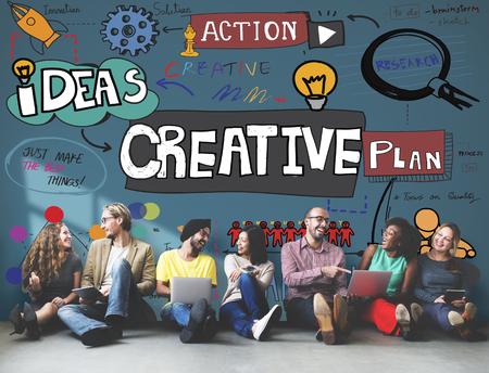 Creative Design Innovation Inspire Concept