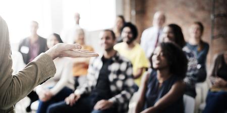Presenation Seminar Group Listening Audience Concept