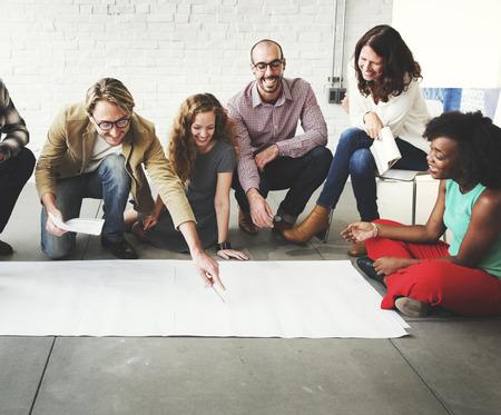 Creative Group Working Planung Konzept Standard-Bild - 53882711