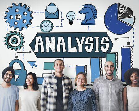 information analysis: Analysis Information Analytics Planning Concept Stock Photo