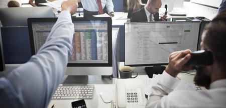 Concept Business Team de travail Comptabilité Correspondance