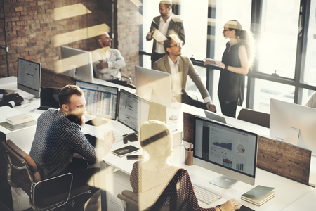 organization: 비즈니스 마케팅 팀 토론 기업의 개념 스톡 콘텐츠