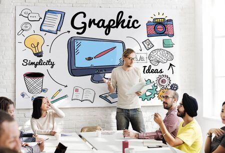 visual: Graphic Visual Art Creative Design Concept