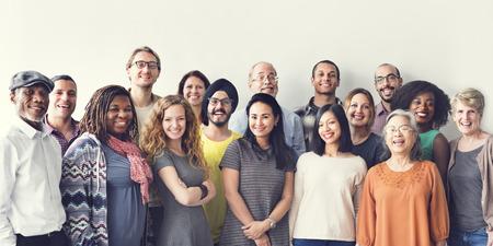 La gente di diversità raggruppa Team Union Concept