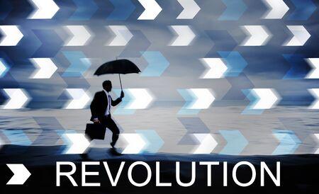 failed politics: Revolution Revolutionary Innovation Concept
