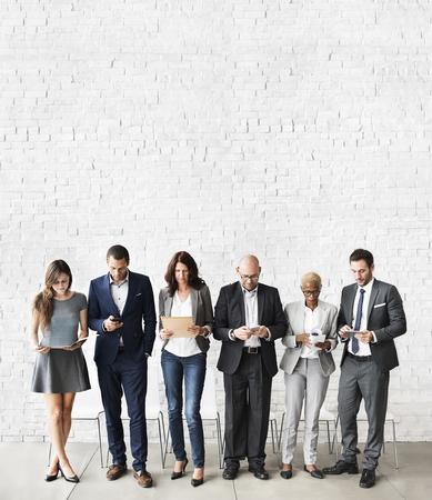 Ressources humaines Interview Recruitment Concept d'emploi Banque d'images - 53547017