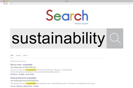 resourceful: Sustainbility Environmental Conservation Resources Ecology Concept