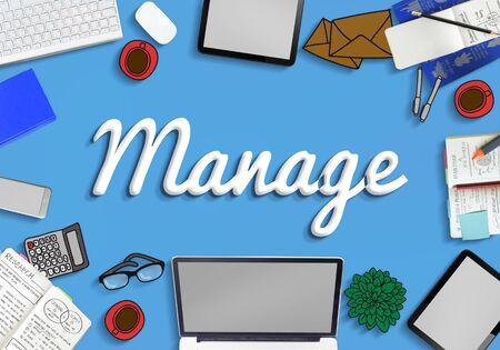 controlling: Manage Development Organization Controlling Concept
