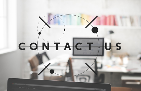 enquiry: Contact Us Enquiry Help Hotline Info Concept