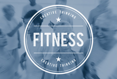 get a workout: Fitness Exercise Health Activity Athletic Physical Concept