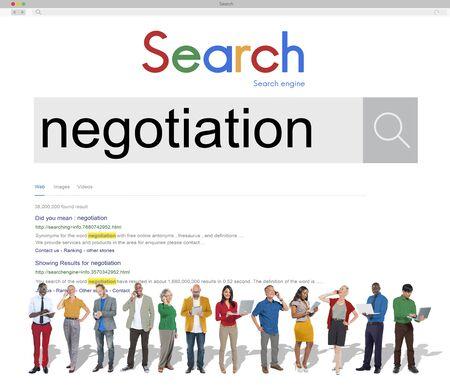 compromise: Negotiation Compromise Agreement Reconcile Concept