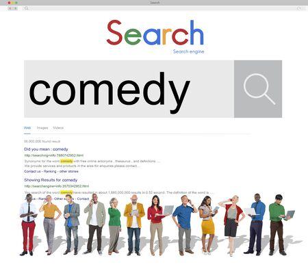 satire: Comedy Fun Happiness Amusement Satire Cheerful Concept