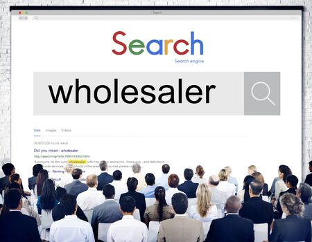 consumerism: Wholesaler Dealer Consumerism Distribution Sell Concept