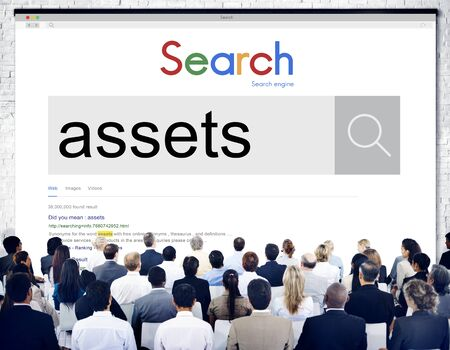 possession: Assets Wealth Possession Money Resources Concept Stock Photo